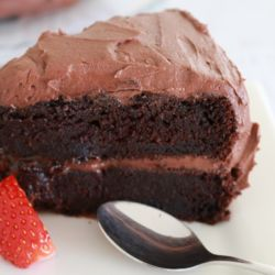 The Best Chocolate Mud Cake (most popular!)