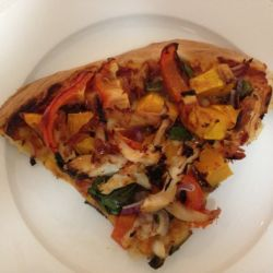 Leftover Roast Chicken Pizza | Quick & Easy Dinner