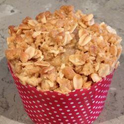 Apple Crumble Muffins (apple & cinnamon)