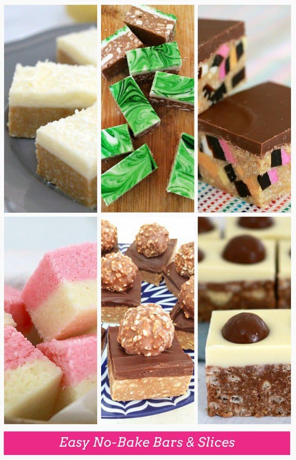 Easy No Bake Bars and Slices