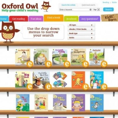 Educational Website Review – Oxford Owl: Free Ebooks and Activities!