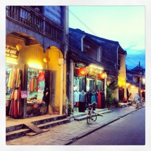 And so how the shopping trip ended in Hoi An…