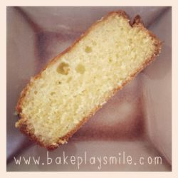 Lemon Teacake Loaf with Syrup