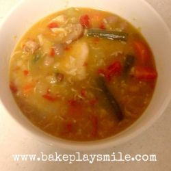 Hearty and Healthy Chicken and Vegetable Soup