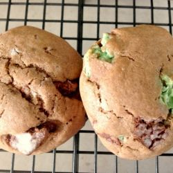 Chocolate Mint Cookies (chocoholics recipe!)