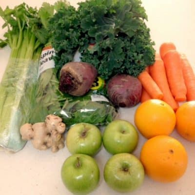 The 5 & 2 Juice – Combo #1 (5 vegetables & 2 fruits)
