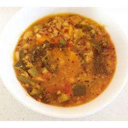 Quinoa and Kale Minestrone Soup (super healthy recipe!)