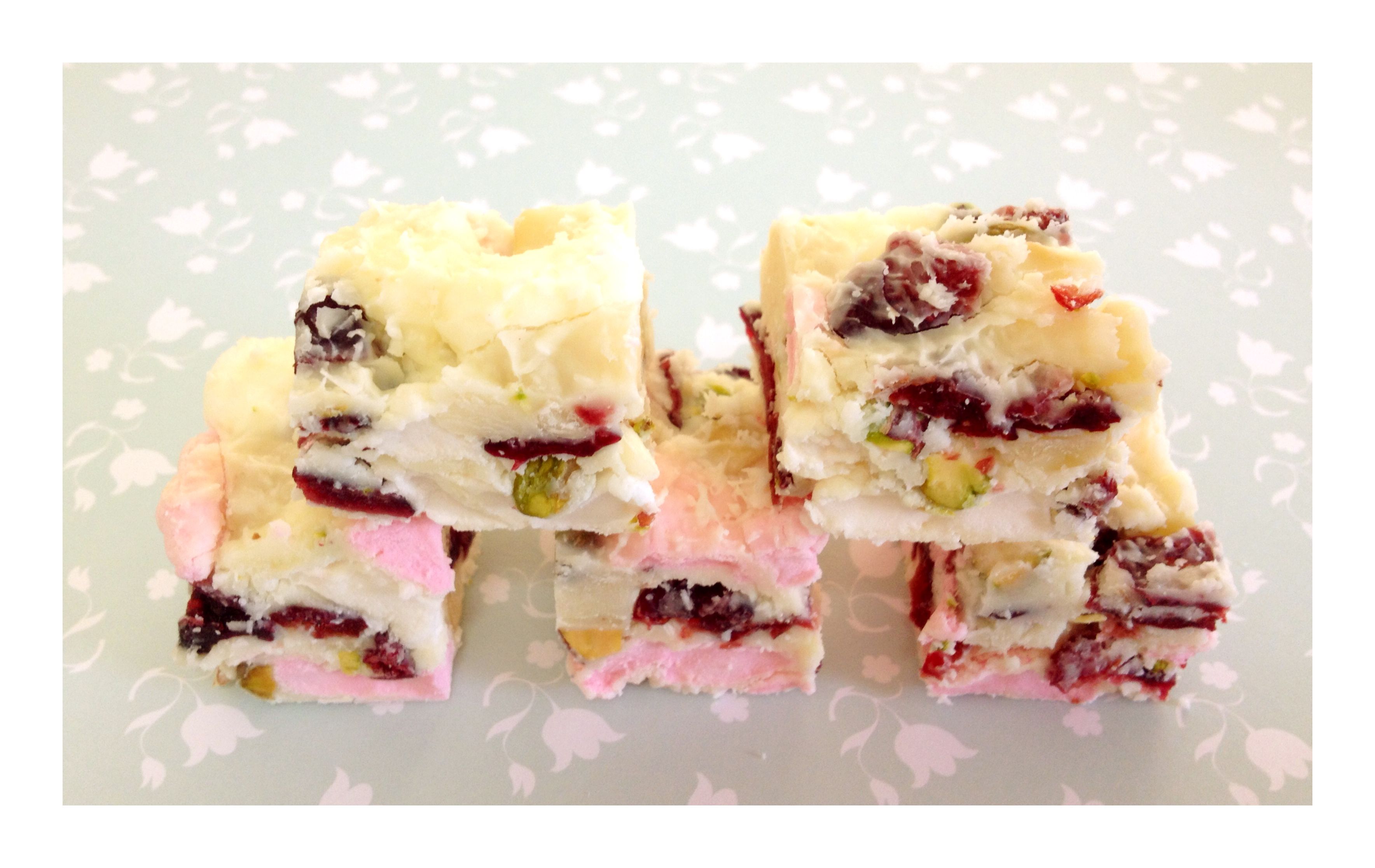 White Chocolate Rocky Road - Bake Play Smile