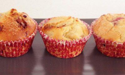 White Chocolate & Berry Muffins
