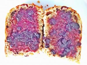 Hot cross buns with jam.