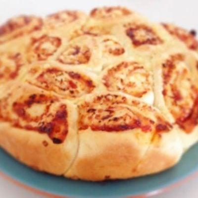 Thermomix Cheese & Ham Scrolls (easy recipe)