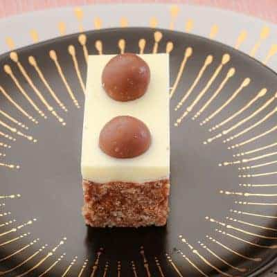Malteser Slice (10 minute no-bake recipe)