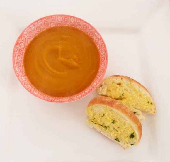 Thai Pumpkin, Sweet Potato and Carrot Soup