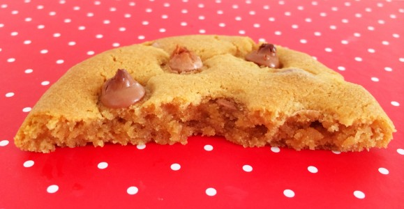 Chocolate and Caramel Chip Cookies