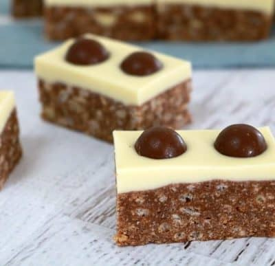 Malteser Slice (10 minutes and no-bake!!)