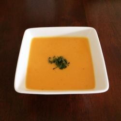 Sweet Potato, Lime and Coconut Soup