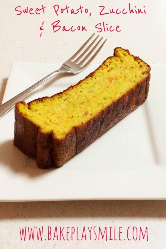 Zucchini & Sweet Potato Loaf