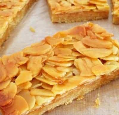Honey Almond Slice (healthier version!)