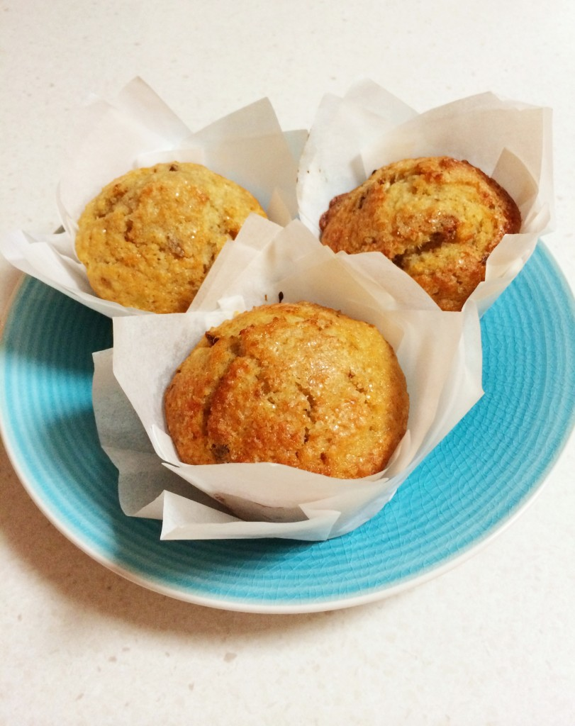 Healthy apple banana coconut date muffins ABCD Muffins
