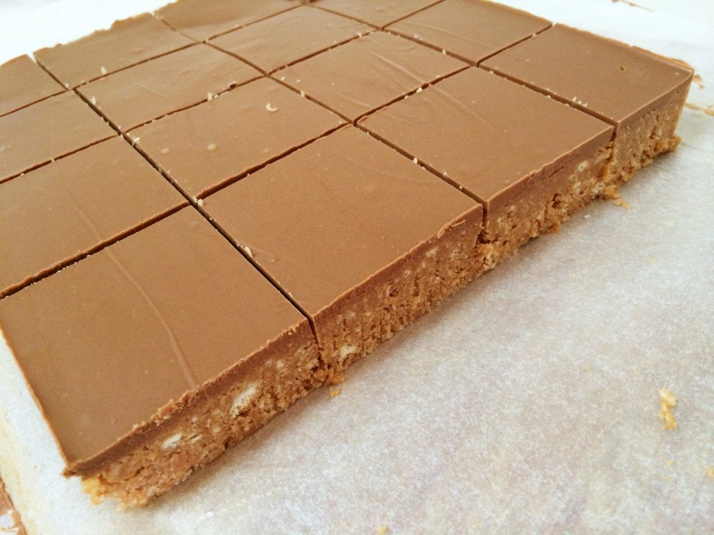 No Bake Caramello Slice