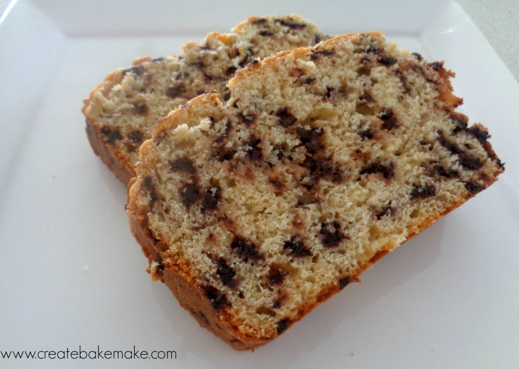 ... over to Lauren for this weeks recipe – Chocolate Chip Banana Bread
