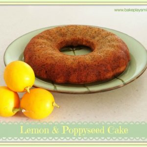 Lemon & Poppyseed Cake