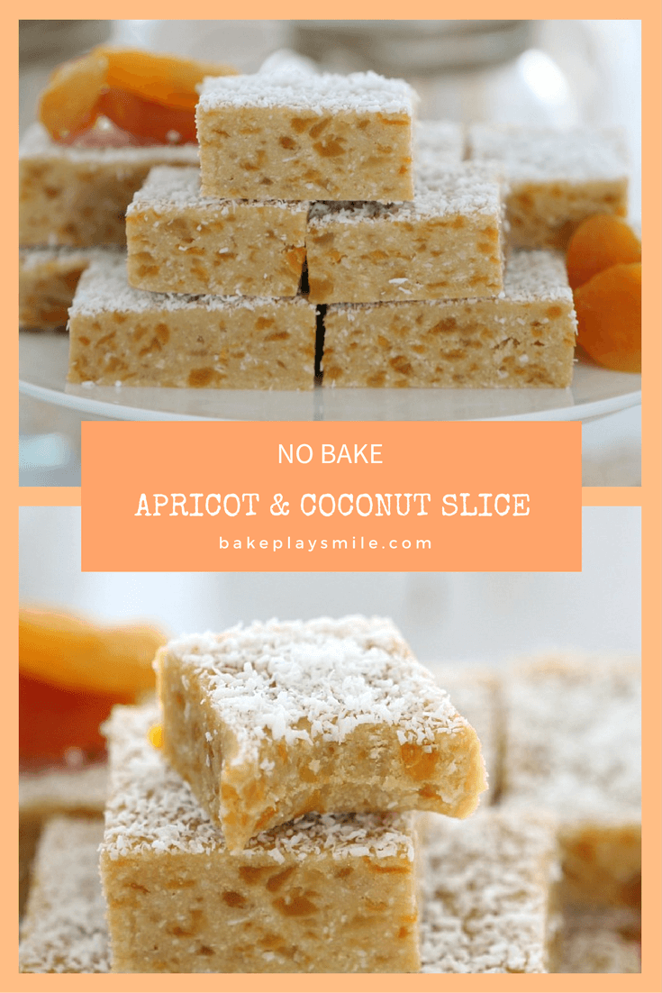 Apricot & Coconut Slice (No Bake)