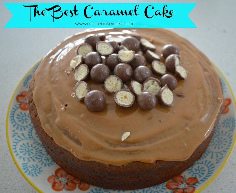 Best Ever Caramel Cake recipe