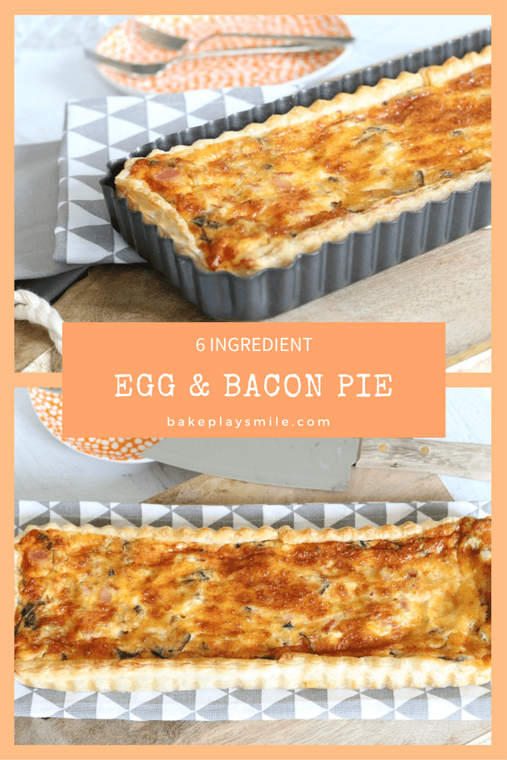 Simple Egg and Bacon Pie image