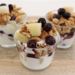 Fruit & Yoghurt Crumble Parfaits