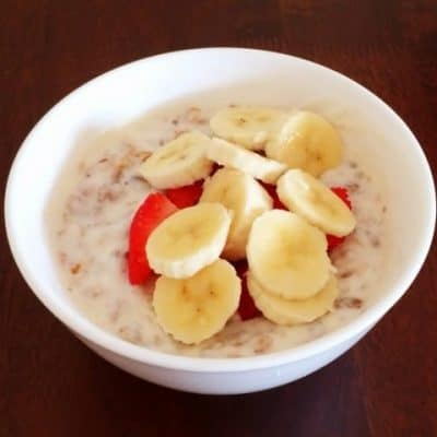 Fruit & Nut Baked Muesli (10 minutes prep time!)