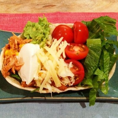 Super Simple Chicken & Lime Tortillas