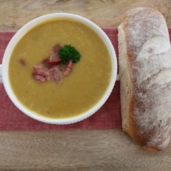 Ham, Potato & Leek Soup