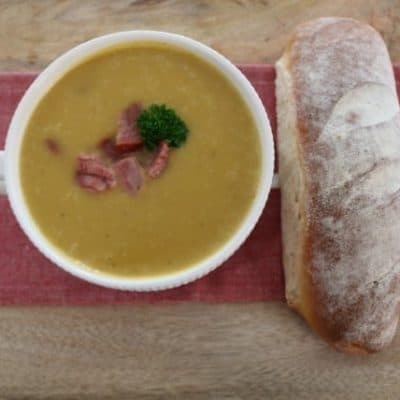 Ham, Potato & Leek Soup (winter warming recipe)