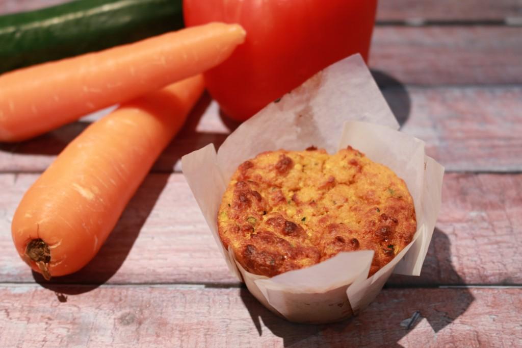 'Veggie Smuggling' Savoury Muffins