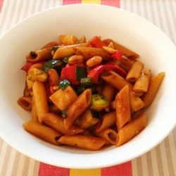 Kung Pao Pasta (fast 30 minute dinner)