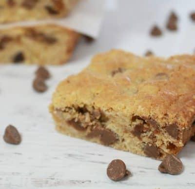 Choc Chip, Sultana & Oat Slice (lunchbox recipe)