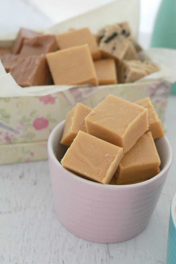 the Salted Caramel – the salt cut through the sweetness of the fudge ...