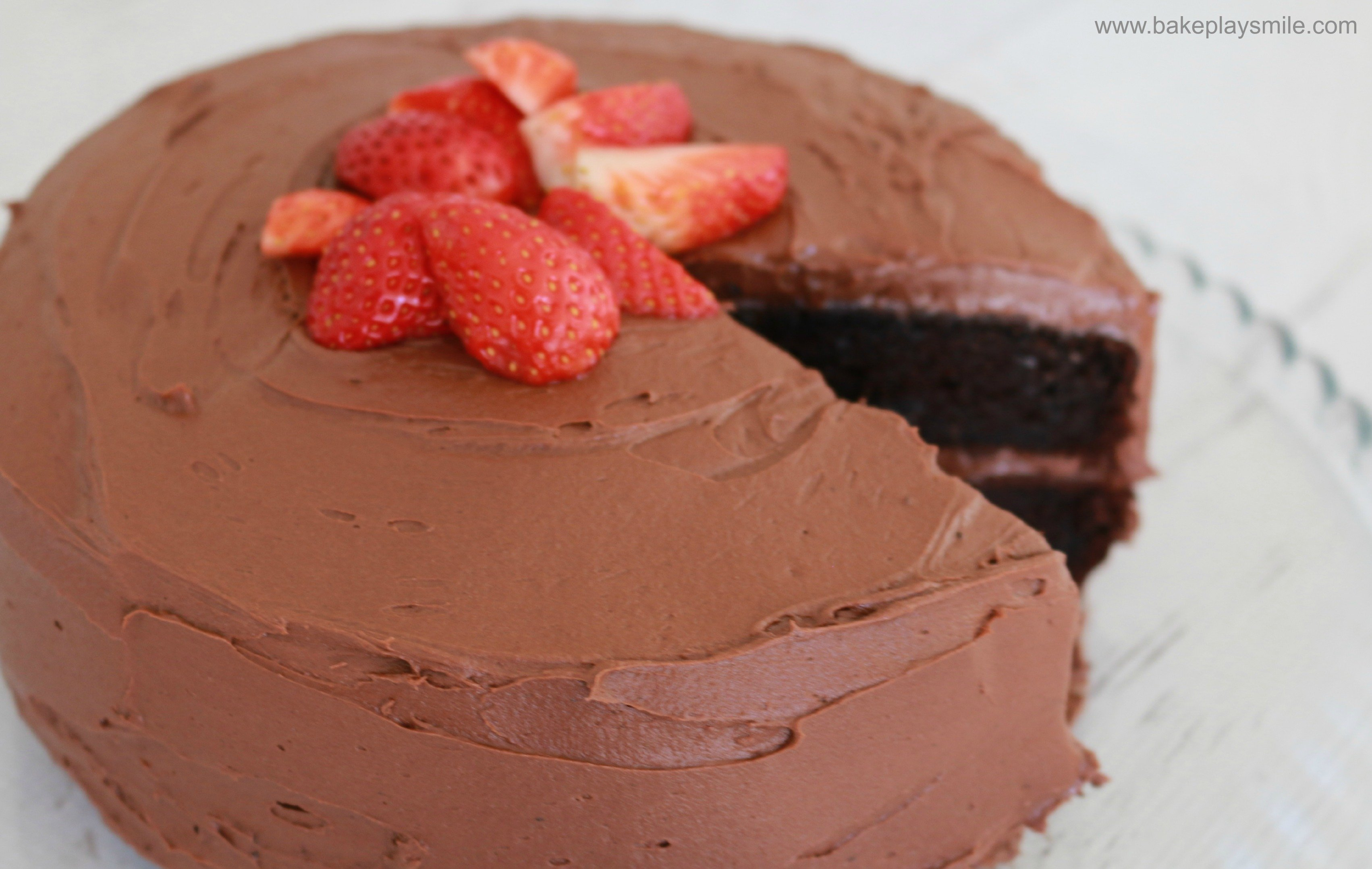 Chocolate mud cake recipe birthday cake