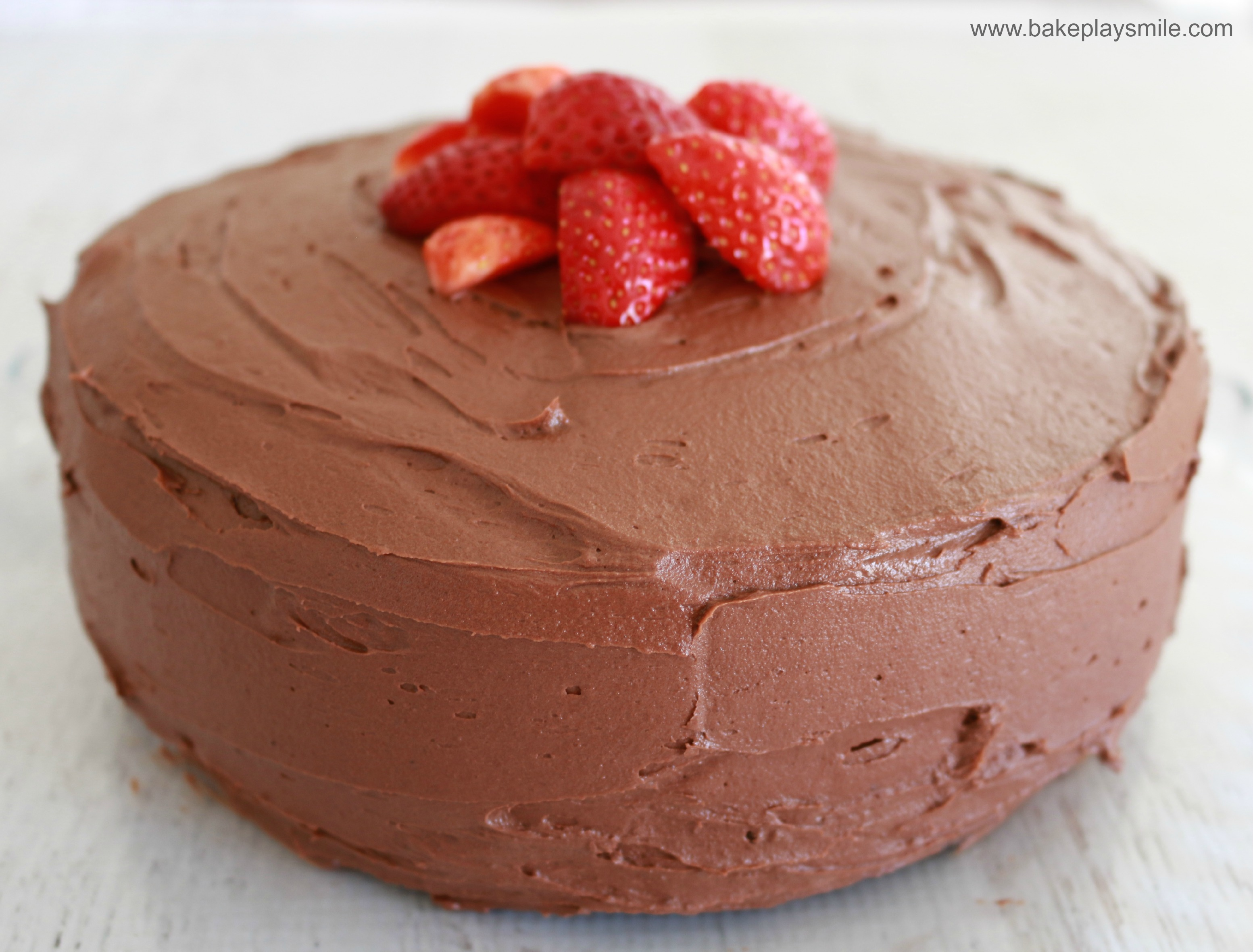 Chocolate Mud Cake Images : The Best Chocolate Mud Cake (most popular!) - Bake Play Smile