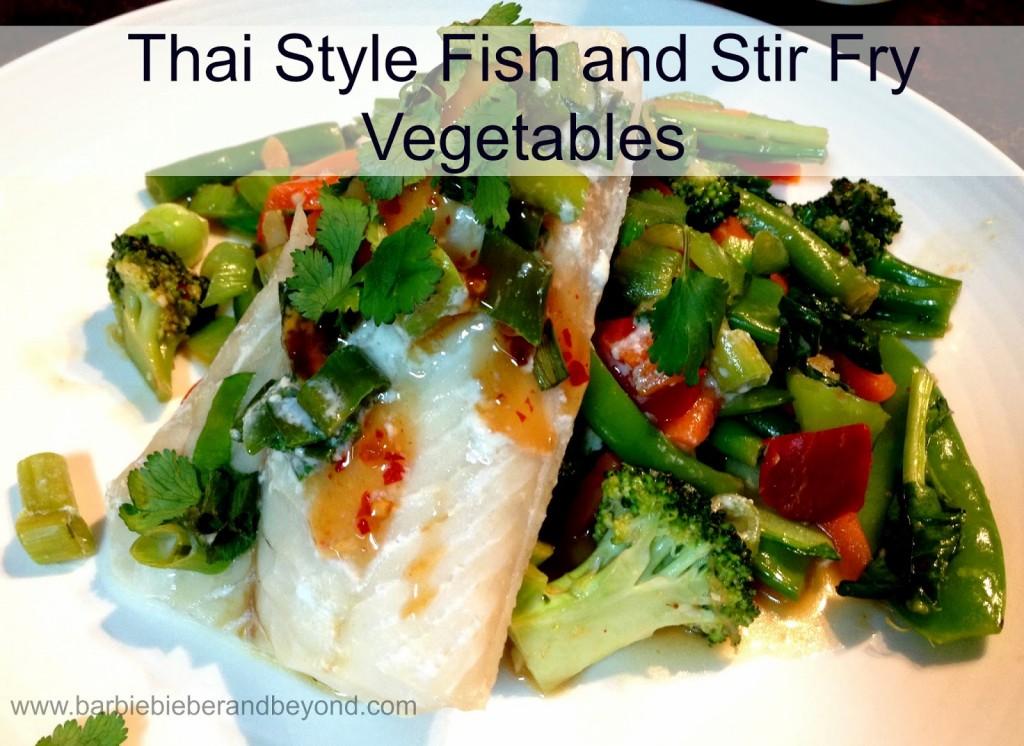thai style fish