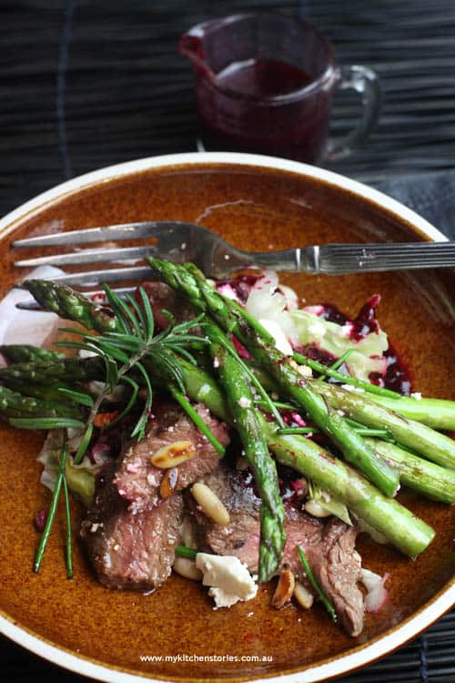 Asparagus-and-lamb-salad