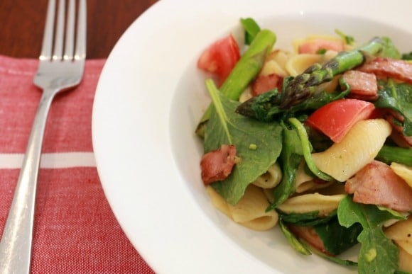 Light & Healthy Spring Pasta