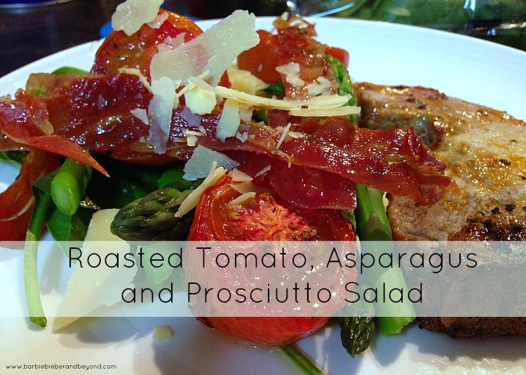 Tomato and Prosciutto Salad 3