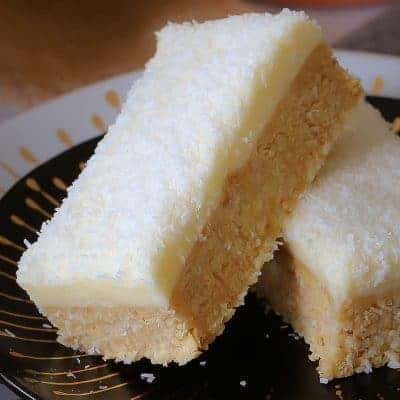 Lemon & Coconut Slice – New & Improved