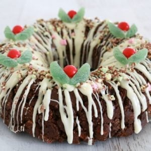Clinkers Rocky Road Wreath