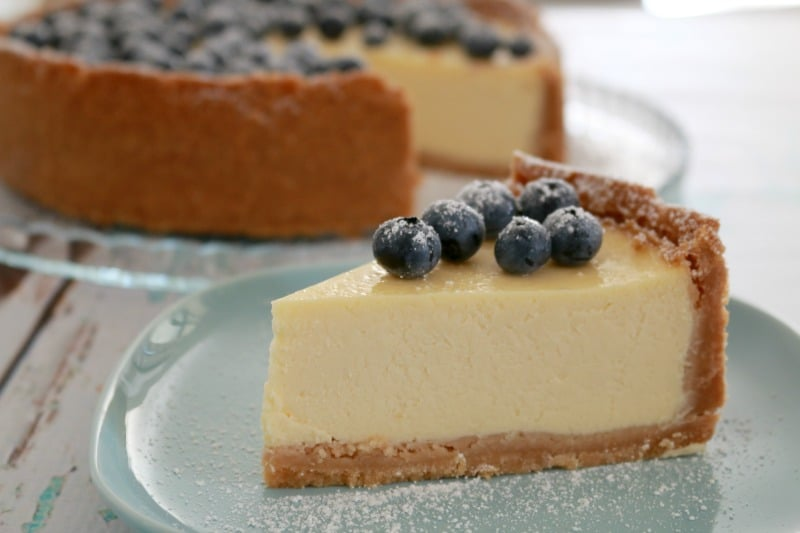 Classic New York Baked Cheesecake - Bake Play Smile