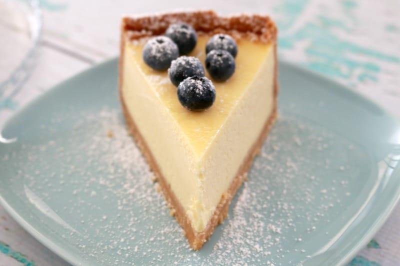 Classic New York Baked Cheesecake image
