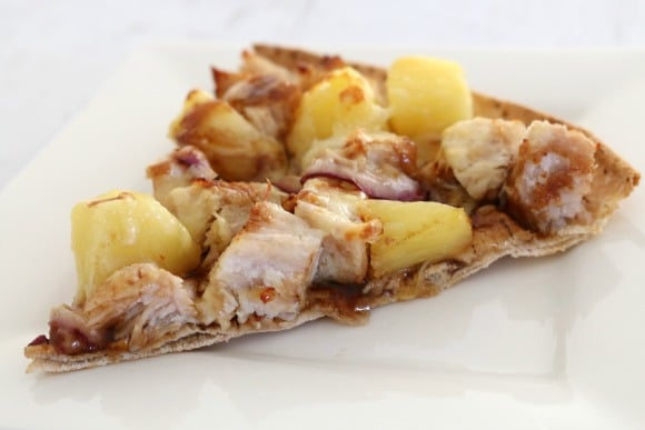 Leftover Roast Turkey Hawaiian Pizzas