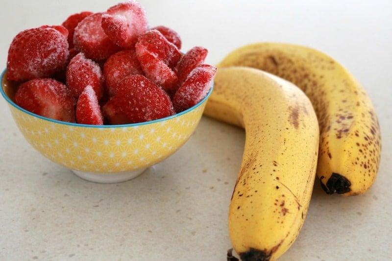 Healthy Strawberry Ice Cream - Bake Play Smile 1